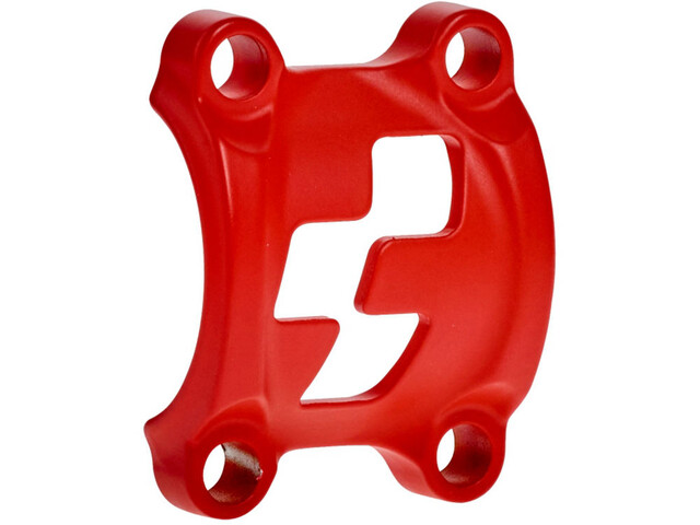 Cube Front Plates Vorbauklemme rot